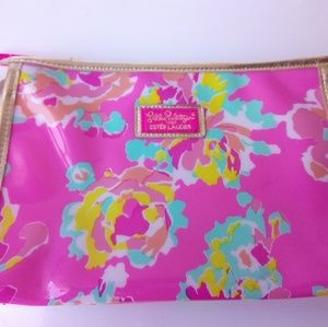 Lily Pulitzer Makeup Cosmetic Pouch Bag